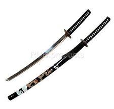"""Samurai Sword 40"""" Black/Gold DRAGON Design Carbon Steel Collectible Katana Ninja"""