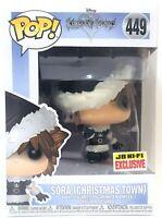 Funko Pop Sora Christmas Town # 449 Kingdom Hearts Vinyl Figure Brand New