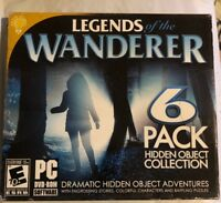 LEGENDS OF THE WANDERER Hidden Object Collection 6 Pack - New