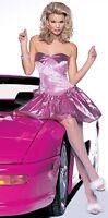 SALE! PINK EIGHTIES DRESS S L CYNDI LAUPER RETRO HOMECOMING QUEEN LEG AVENUE