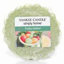 Yankee Candle Simplemente Hogar Pastilla de Cera Tartas Frutas Melon Verde Nuevo