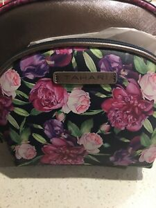 Tahari Two-Piece Romantic Floral Travel Pack-new