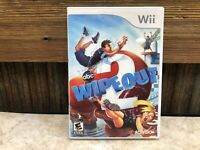 Wipeout 2 Nintendo Wii Video Game TESTED, COMPLETE, FREE SHIPPING & RETURNS #2