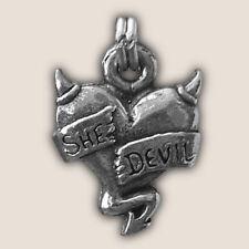 SHE DEVIL ZIPPER PULL biker leather jacket harley motorcycle hd biker punk