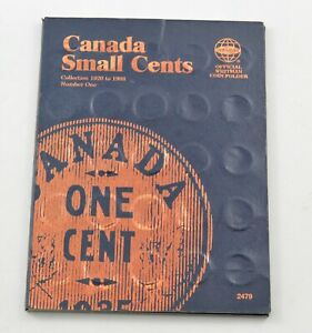 1920-1988 - Canada Small Cents - Collection Set Lot Album *346