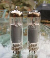 Matched Pair Telefunken 6BQ5 EL84 Tubes - diamond on bottom, matched within 9%