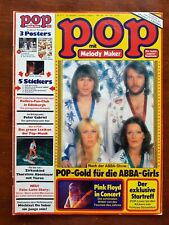 Pop mit Melody Marker Nr.6/1977(ABBA,Freeddy Mercury)