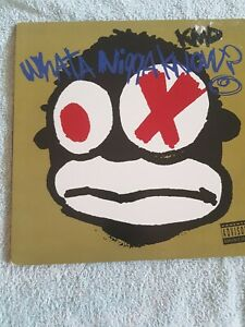"""(MF DOOM) KMD - WHAT A NIGGA KNOW/CONSTIPATED MONKEY 12"""" 1st pressing excellent"""