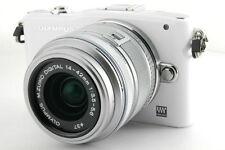 Olympus PEN mini E-PM1 mirrorless digital camera kit w. 14-42mm lens *white