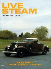 Live Steam V16 N 1 January 1982 Barney Becker's Doble E14 Steam Car