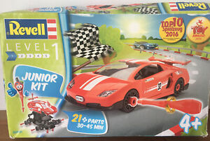 Revell 00800 Junior Kit Racing Car Model Kit (Level 1) (Scale 1:20)