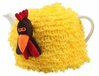 T&G Woodware Farmyard Crazy Charlie Yellow Chicken Tea Cosy Cosie Cozie Novelty