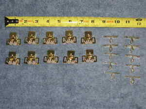 10 SETS RV Camper Roller Spear Strike Door Catch Cabinet Cupboard Drawer Lock