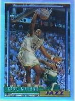 1996-97 Stadium Club Finest Reprints Refractors Basketball Card #26 Karl Malone