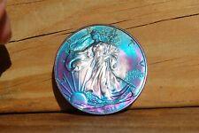 2015 American Silver Eagle .999 Fine Bullion Toned Liberty 1 Troy Oz Coin BU