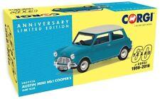 New Corgi Vanguards 1:43rd Scale Austin Mini MK1 Cooper S Diecast Model.