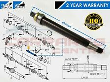 FOR FORD MONDEO RIGHT INTERMEDIATE DRIVE SHAFT WITH BEARING 2.0 TDCi Di TDDi