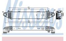 NISSENS Radiador de aire admisión MERCEDES-BENZ CLASE C SLK E 96535