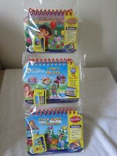 new 7 X leapfrog my first leappad learning system preschool reading games & bag