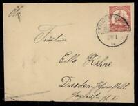 Germany SW Africa 1911 KALKFONTEIN DSWA FRONT 77860