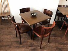 1/30 Kolonial Stil Stuhl Massive Holz Esszimmer Küche Gastronomie