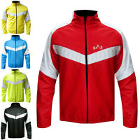 Mens Winter Cycling Jacket Windproof Cycle Bicycle Jacket Thermal Jacket
