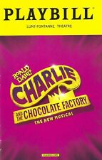 """Christian Borle """"CHARLIE and the CHOCOLATE FACTORY"""" Jackie Hoffman 2017 Playbill"""