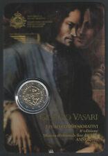 2011 San Marino € 2,00 Giorgio Vasari FDC