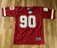 Vintage 1990's Kansas City Chiefs NEIL SMITH Starter Jersey 48 NWT Deadstck