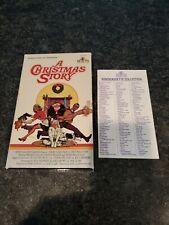 RARE HTF 1984 A CHRISTMAS STORY VHS ORIG. RELEASE BIG BOX MGM/UA