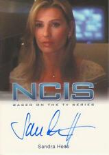 NCIS Premium Release by Rittenhouse - Sandra Hess  Autograph Trading Card