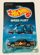 🏁 HOT WHEELS 1989 SPEED FLEET CHEVY STOCKER No.1791 🏁