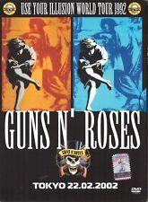 GUNS N' ROSES =USE YOU ILLUSION WORLD TOUR 1992= DVD