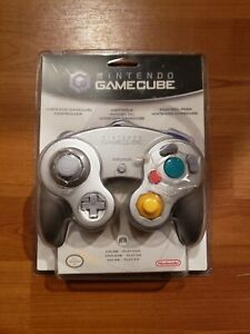 Nintendo Gamecube Controller Platinum Silver Color New In Package OEM Sealed