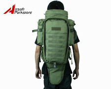 Airsoft Tactical Military Police Molle Rifle Gun Carrying Case Bag Backpack OD