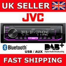 JVC KD-X451DBT Car Van Single Din Stereo MP3 USB AUX Bluetooth DAB(NO CD) Aerial