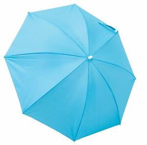 Rio Brands 4 Clamp-on Umbrella For Beach Chair Polyester SPF50 Sun Protection
