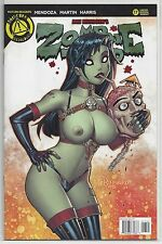 Zombie Tramp #17 Limited Edition Variant Cover Action Lab Danger Zone