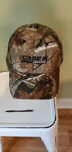 REALTREE HAT CAMO CAMOUFLAGE CASE IH AGRICULTURE NEW TAGS ATTACHED