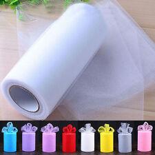 15.2cm largeur x 22.9m M tutu Rouleaux Tulle nylon Filet Tissu Artisanats