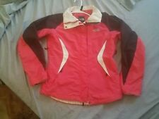 The North Face Womens Pink/Black Hy-Vent Lined Jacket sz Small windbreaker