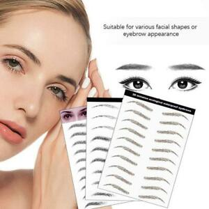 Eyebrow Tattoo Sticker Eyebrows Sticker Long-Lasting False Eyebrow Cosmetic Tool