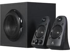 Logitech Certified Refurbished Z623 | 980-000402 200 Watts 2.1 Home Speaker Syst