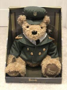 HARRODS ANNUAL BEAR (2017) – Green Man Doorman - Limited Edition