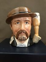 Royal Doulton Wild Bill Hickock Toby Jug, The Wild West Collection D6736