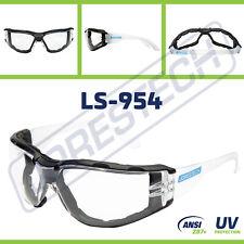 Safety Goggles Clear Anti Fog Scratch Resistant UV Z87+ Glasses JORESTECH