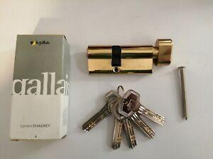 Barillet cylindre de securité LEGALLAIS 30X40 A BOUTON AVEC 5 CLEFS  (NEUF)