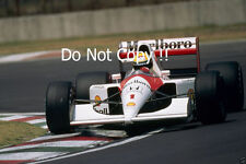 Ayrton Senna McLaren MP4/6 F1 Season 1991 Photograph