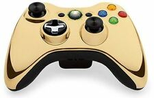 Xbox 360 Wireless Controller: Special Edition Chrome Series GOLD NEW