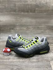 Nike Air Max 95 OG V SP Neon Grey Yellow Volt Black Patch OG 747137-170 Sz 10.5